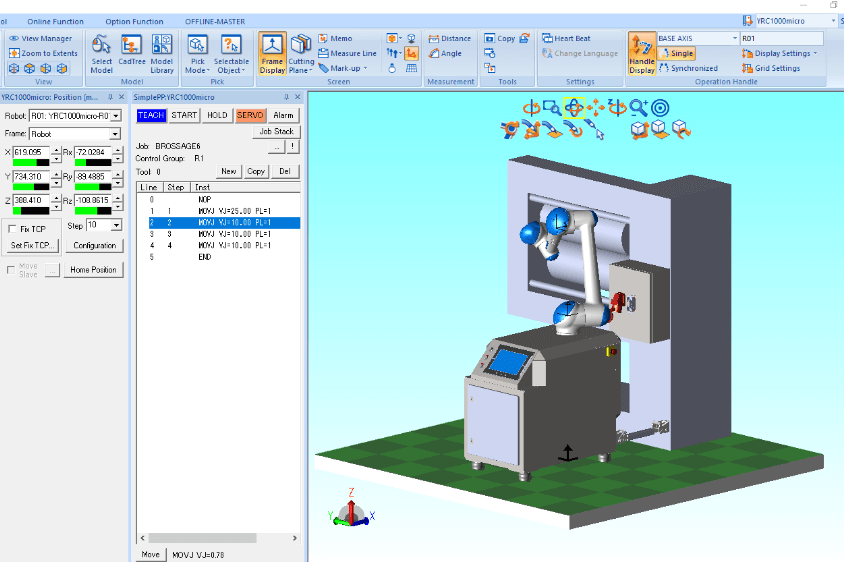 robotique collaborative conception