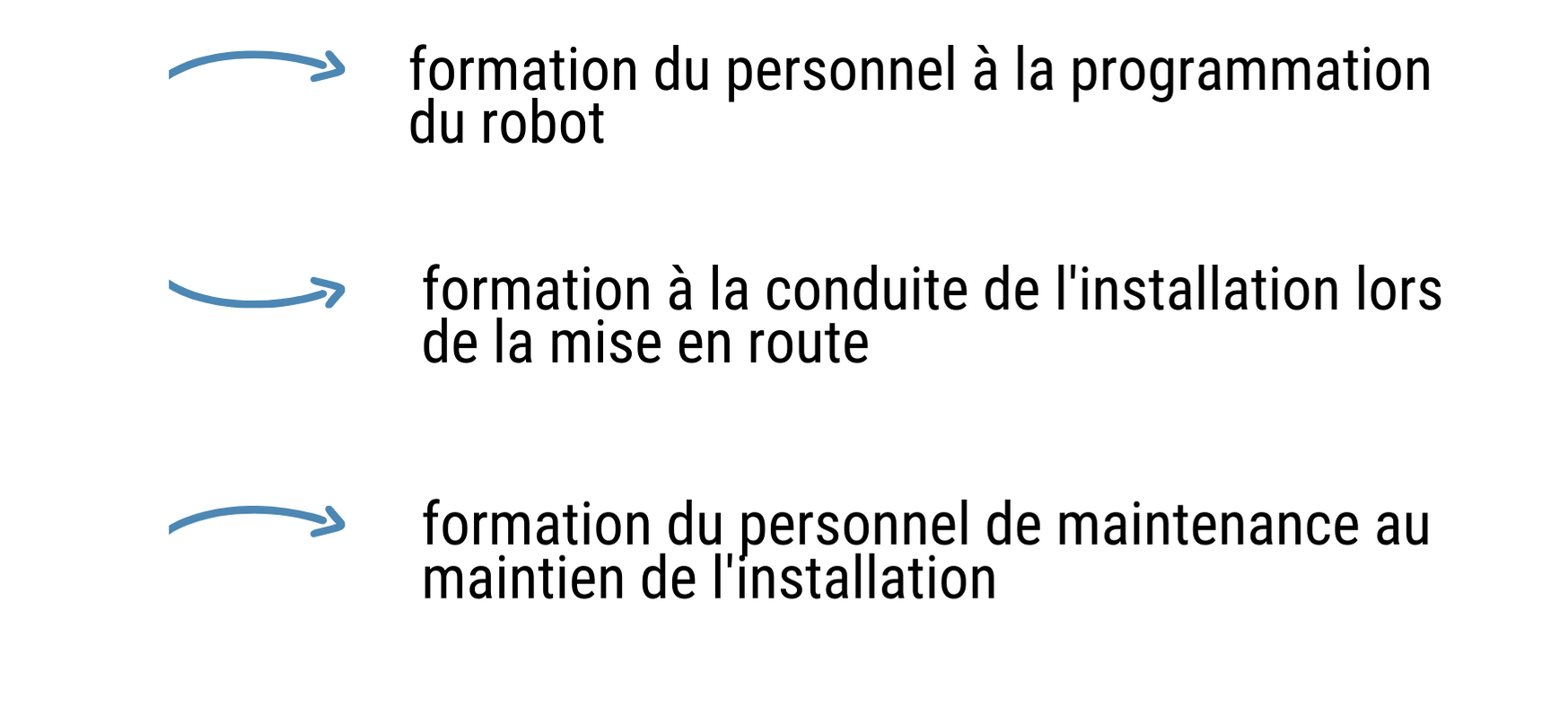 robotique collaborative formation